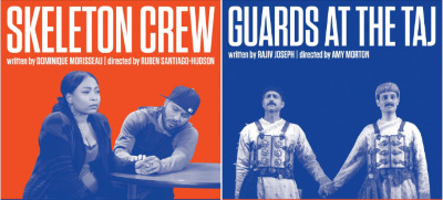 Post image for Theater Preview: SKELETON CREW / GUARDS AT THE TAJ (Atlantic Theater Reunion Readings)