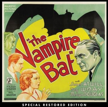 Post image for Film/Blu-ray: THE VAMPIRE BAT (1933, directed by Frank Strayer, restored by the UCLA Film & Television Archive)