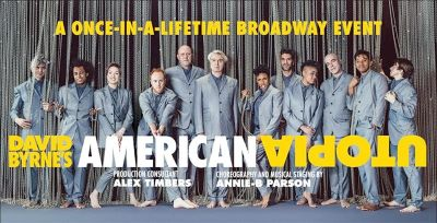 Post image for Broadway Preview: AMERICAN UTOPIA (David Byrne and Band)