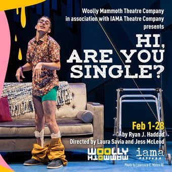 Post image for Theater Review: HI, ARE YOU SINGLE? (Woolly Mammoth, IAMA)