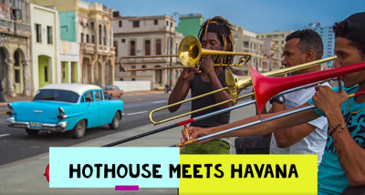 Post image for Music: HOTHOUSE MEETS HAVANA (Cuban Jazz Jan 21-24, 2021)