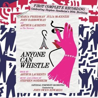Post image for Album Review: ANYONE CAN WHISTLE (First Complete Recording from Jay Records)