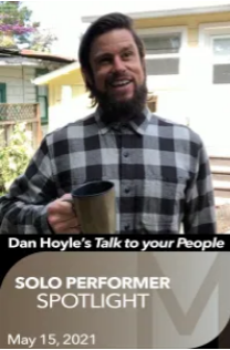 Post image for Theater: TALK TO YOUR PEOPLE (Dan Hoyle, The Marsh)