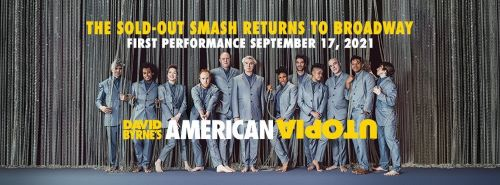 Post image for Broadway Reopening: DAVID BYRNE'S AMERICAN UTOPIA (September 17 at the St. James Theatre)