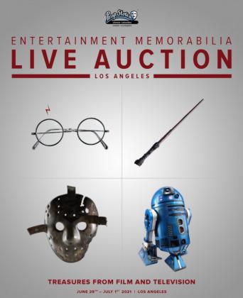 Post image for Art / Film: MOVIE PROP & MEMORABILIA AUCTION (Prop Store)