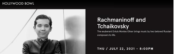 Post image for Music Review: Conductor ENLUIS MONTES OLIVAR & Pianist LUKÁŠ VONDRÁČEK (Los Angeles Philharmonic; Tchaikovsky & Rachmaninoff at The Hollywood Bowl)