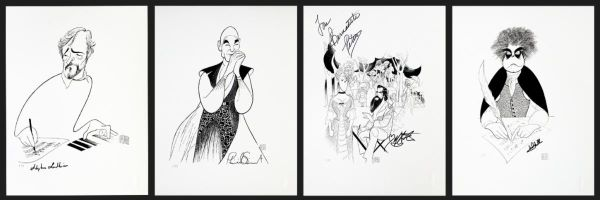 Post image for Art Auction: AL HIRSCHFELD PRINTS SIGNED BY BROADWAY STARS (Benefits Broadway Cares/Equity Fights AIDSand the Al Hirschfeld Foundation)