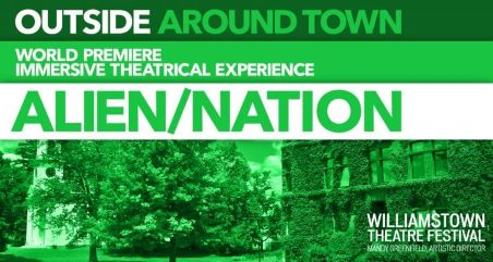 Post image for Theater Opening: ALIEN/NATION (Williamstown Theatre Festival)