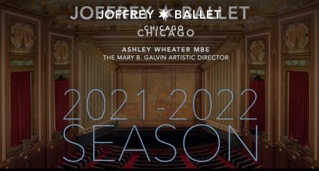 Post image for Dance: THE JOFFREY BALLET (2021-22 Season Announcement)