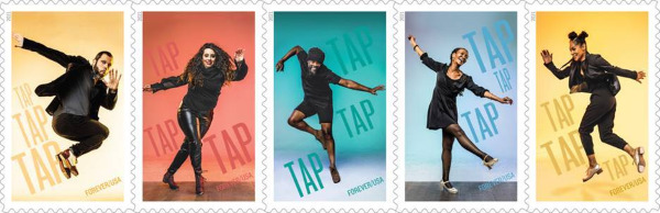 Post image for Extras: TAP DANCE FOREVER STAMPS (U.S. Postal Service)