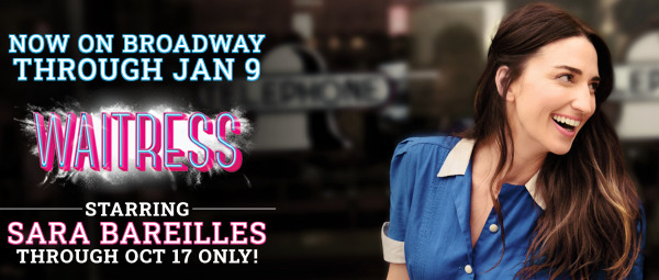 Post image for Broadway: WAITRESS (Ticket Sales Set House Record)